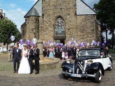 Amelie Hochzeit Im Citroen Oldtimer Amelie Hochzeitsfahrt Im